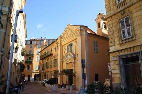Nice France Side Streets