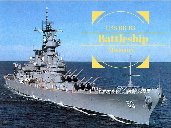 USS Battleship Missouri Tour