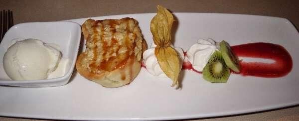 Vic's Steakhouse Cinnamon Apple Tart Dessert