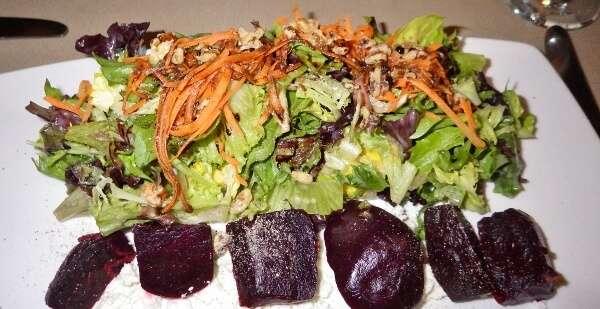 Vic's Steakhouse Roasted Beet Salad