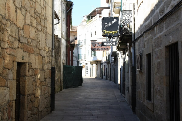 Vigo Spain Side Streets