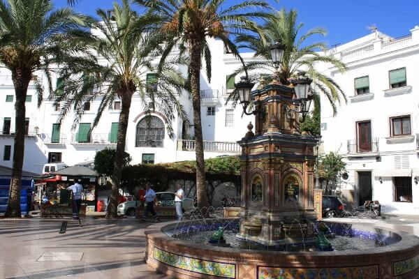 White Village Plaza Spain