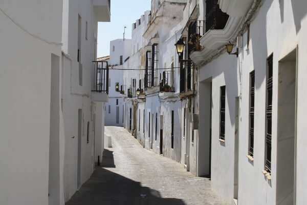 White Village Spain Side Street