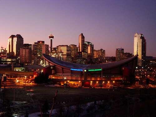 Calgary Alberta Skyline