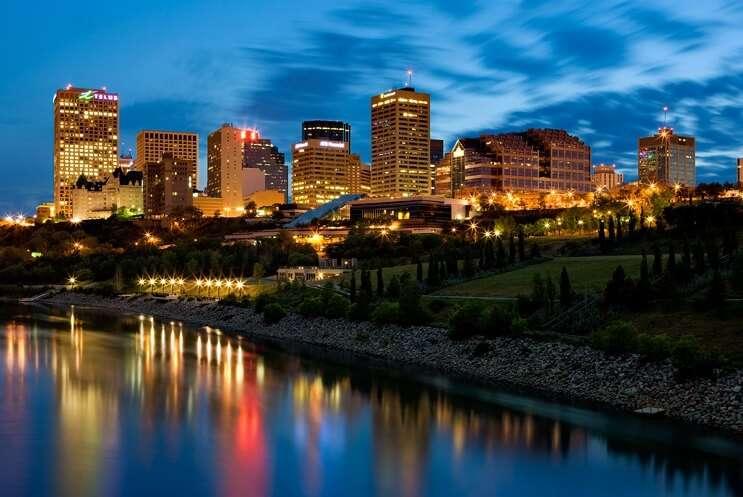 Edmonton Alberta Skyline