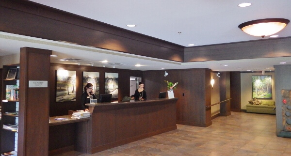Executive Suites Hotel Lobby Squamish BC