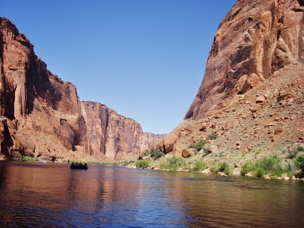 Glen Canyon National Recreation Area Rvier Rafting