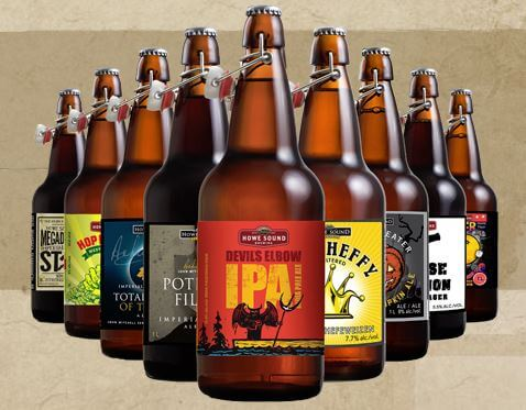 Howe Sound Craft Beers