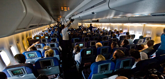 Large Airplane Cabin