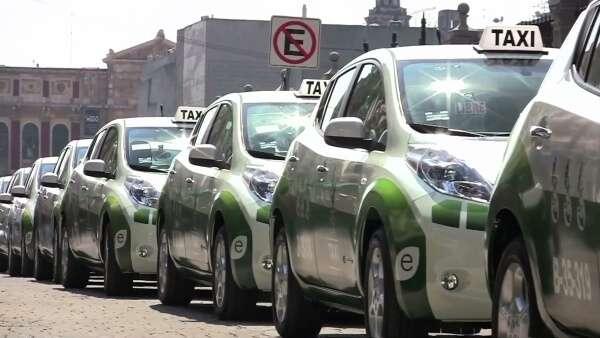 Mexico City Taxi Cabs
