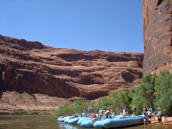 River Rafting Tour Glen Canyon Arizona