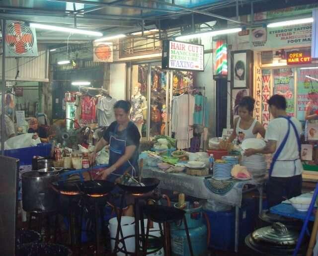 Food Vendors Bangkok Thailand