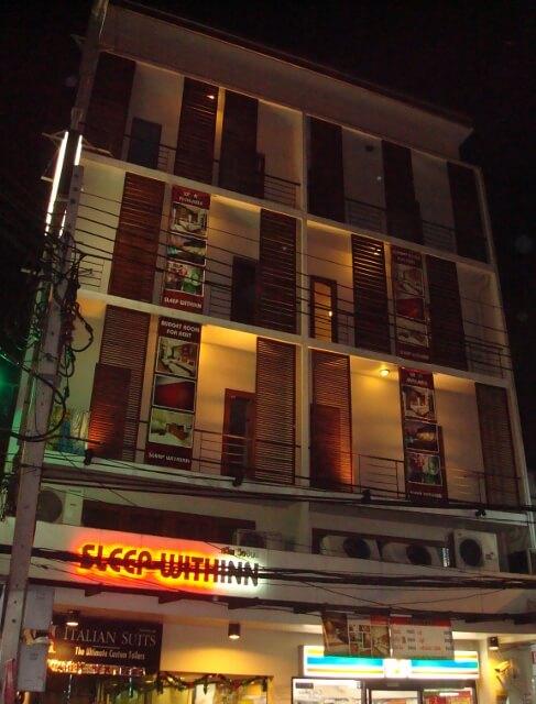 Sleep WithInn Hotel in Bangkok Review