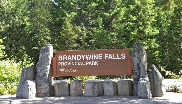 Brandywine Falls Provincial Park in Whistler BC