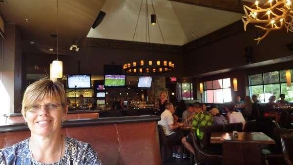 Dining at earls Kitchen + Bar Whistler BC