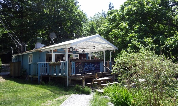 Great Dining at Fergies Cafe Squamish BC