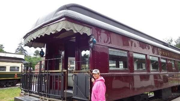 Historic Luxury Train West Coast Railway Heritage Park