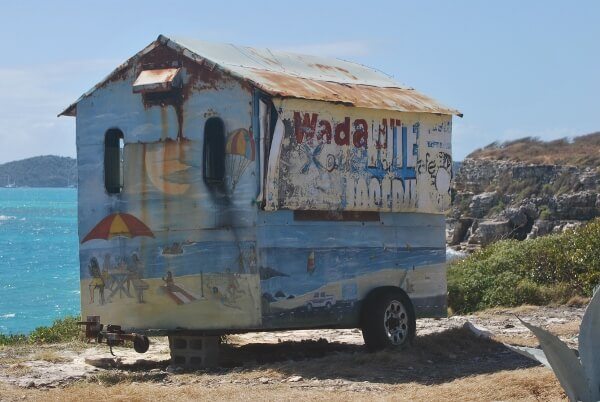 Old Beach Shack Trailer