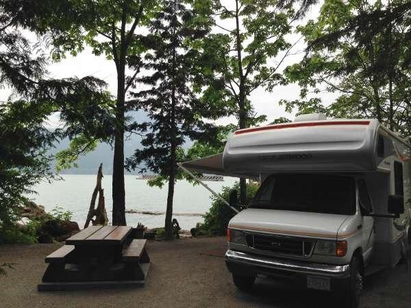 Porteau Cove Camping