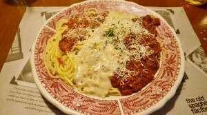 Potpourri Spaghetti Old Spaghetti Factory