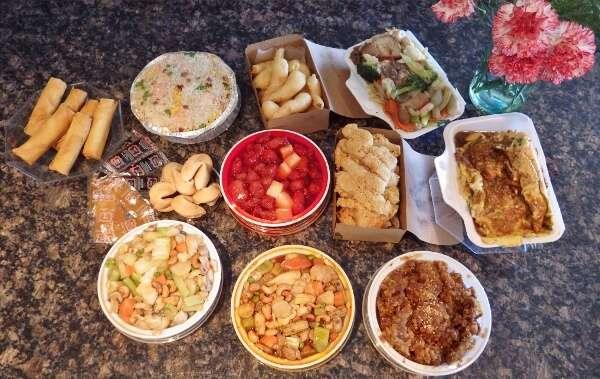 Prawn Garden Combination Dinner