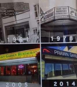 Prawn Garden Restaurant History
