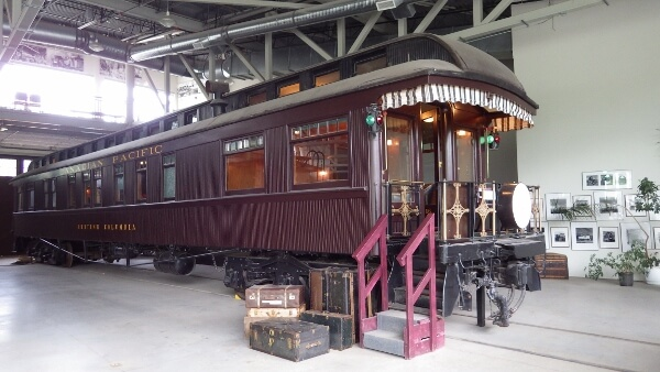 Roundhouse Dining Car West Coast Railway Museum