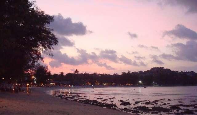 Choeng Mon Beach Sunset