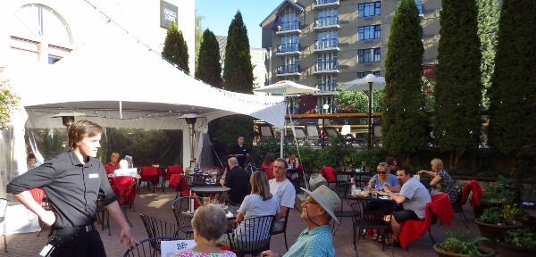 The Old Spaghetti Factory Patio Whistler BC