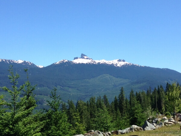 Whistler RV Park Mountain View