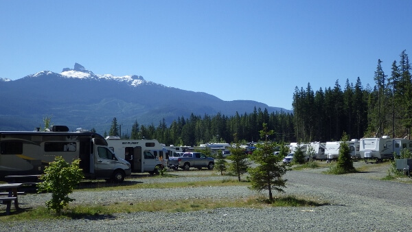 Whistler RV Park Sites