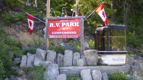 Great Camping at Whistler RV Park