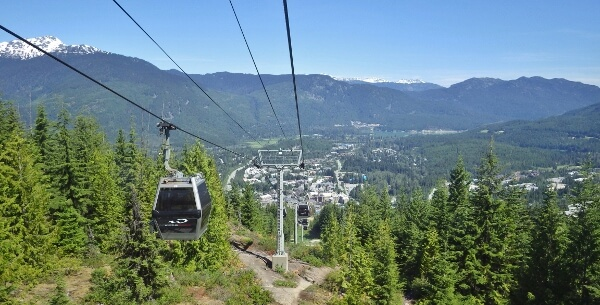 Whistler Village Gondola Ride