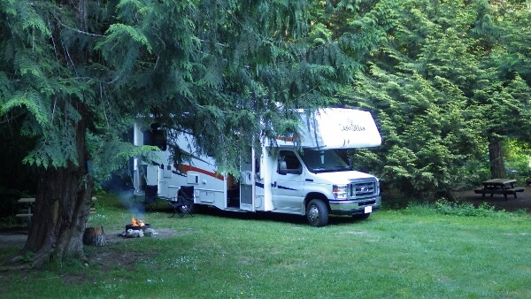 Vancouver to Whistler Camping Tour