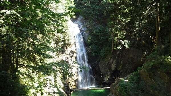 Visit Cascade Falls Regional Park in BC