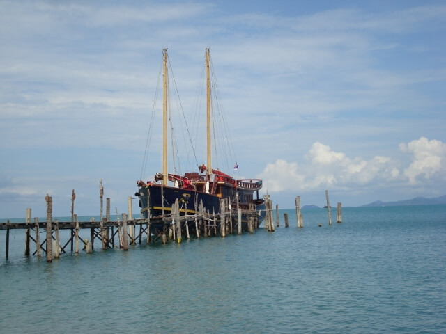 Sailboat in Koh Samui