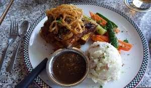 Longhorn Dinner John's Place Victoria