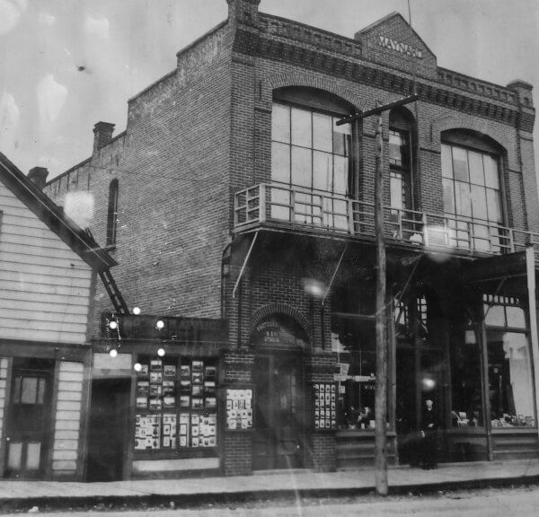 Old Photo John's Place Building