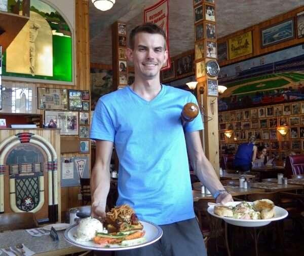 Server John's Place Restaurant