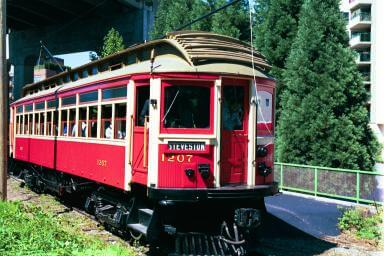 The Historic Downtown Vancouver Railway