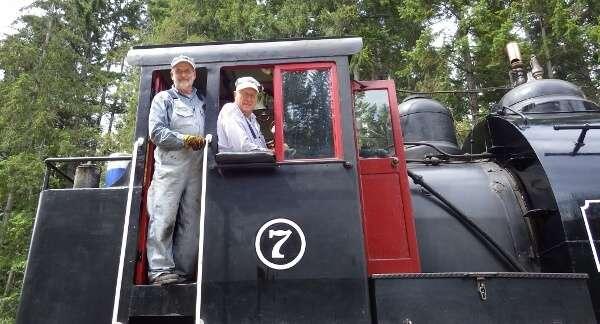 Alberni Pacific Steam Railway Engineers