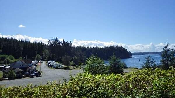 Alder Bay RV Camping Port McNeill BC