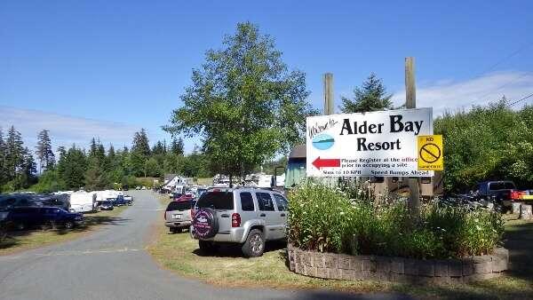 Alder Bay RV Park Port McNeill BC