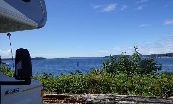 Alder Bay Resort Camping Port McNeill BC