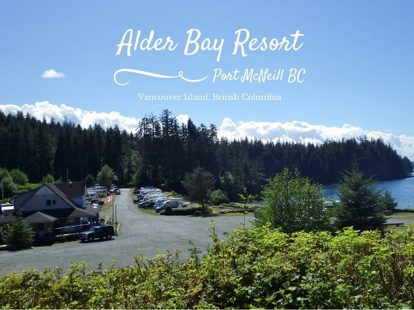The Alder Bay Resort in Port McNeill BC