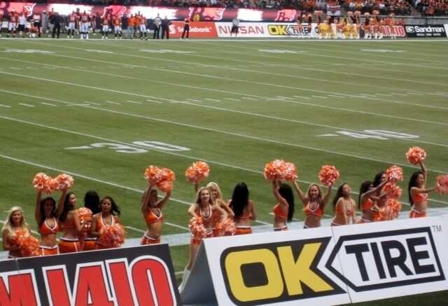 BC Lions Cheerleaders