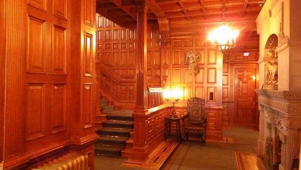 Craigdarroch Castle Woodwork
