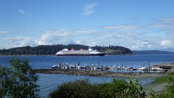 Disney Cruise Ship British Columbia