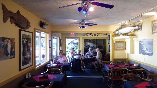 Gaby's Seaside Restaurant Dining Room