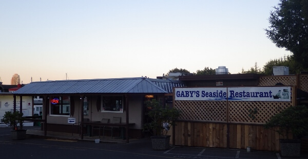 Gaby's Seaside Restaurant in Esquimalt BC